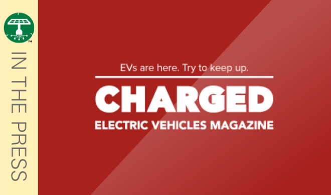 Charged EV Magazine: Panasonic partners with Powertree to deploy charging stations with solar power and energy storage