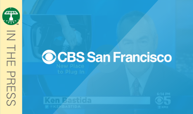 CBS TV: Powertree Builds Out Bay Area Charging System